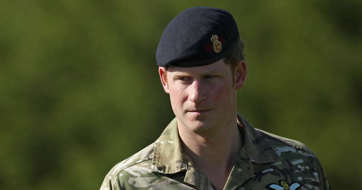Prince Harry says serving his country in the military is 'amongst the greatest honours in life'
