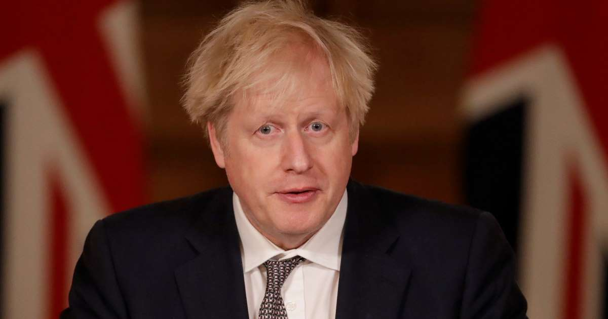 Boris Johnson admits Brexit deal falls short for financial services