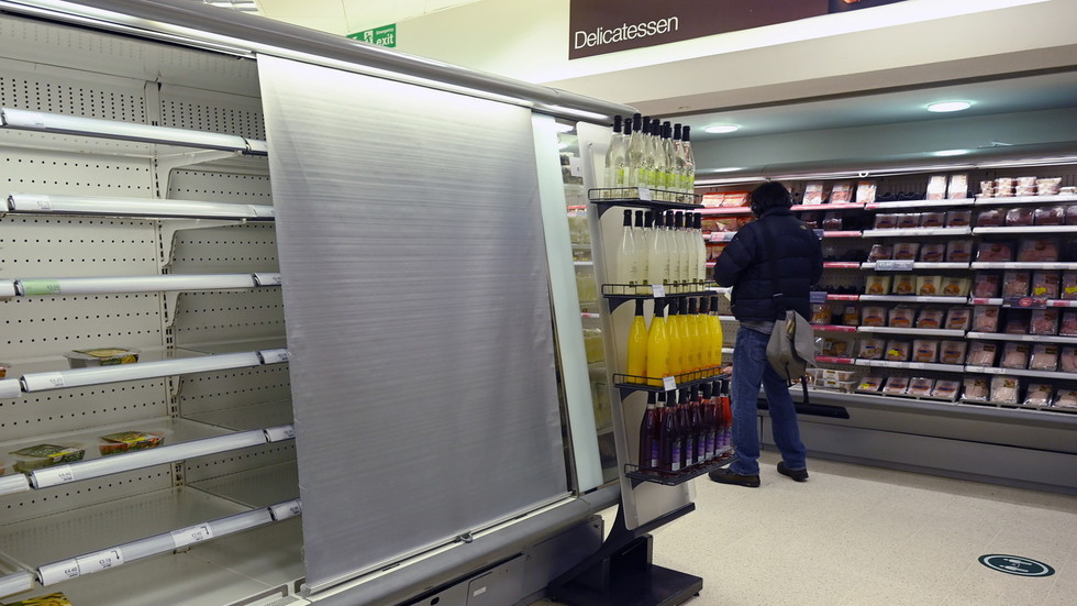 Brexit bites: Northern Ireland shoppers face empty shelves as red tape clogs supermarkets' supply chains